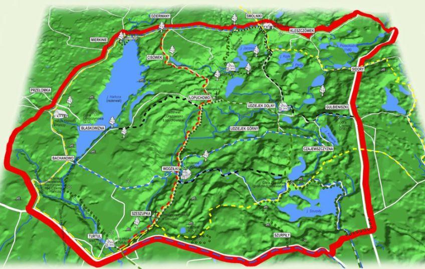 Mapa Turystyczna w skali 1:25000 do pobrania w pliku .pdf
