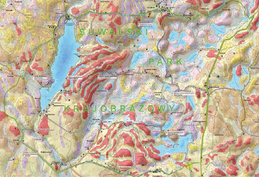 Mapa Geologiczno-Turystyczna w skali 1:25000 do pobrania w pliku .pdf