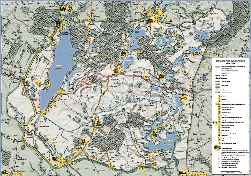 Mapa Turystyczna w skali 1:30000 do pobrania w pliku .pdf