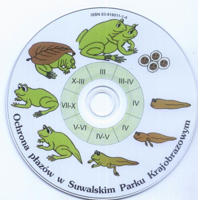Ochrona płazów płyta CD