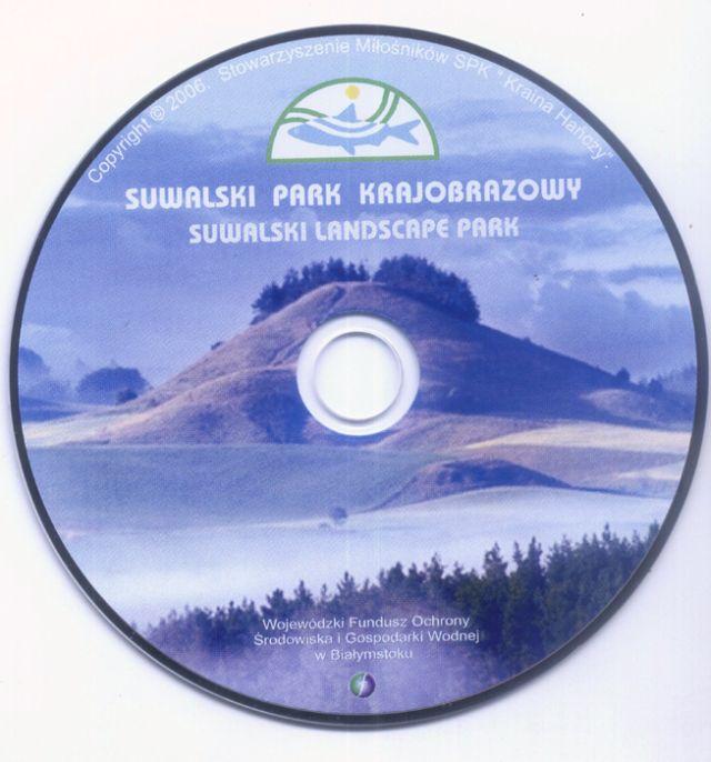 Suwalski Park Krajobrazowy płyta CD