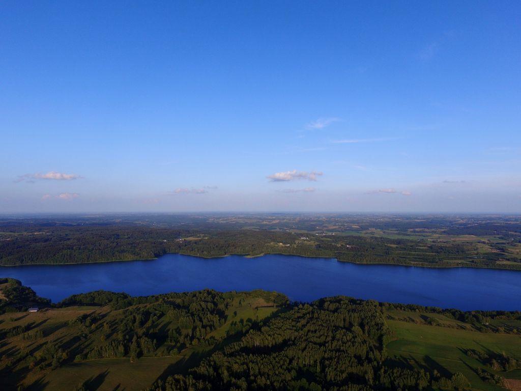 Jezioro Hańcza. Fot.M.W. Żarski