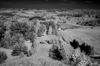 Panorama z Góry Cisowej. Fot.P.Wypych