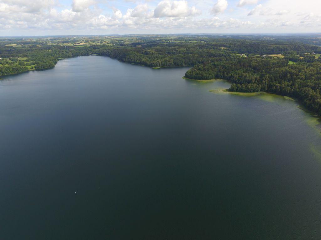 Północna część jeziora Hańcza. Fot.M.W. Żarski
