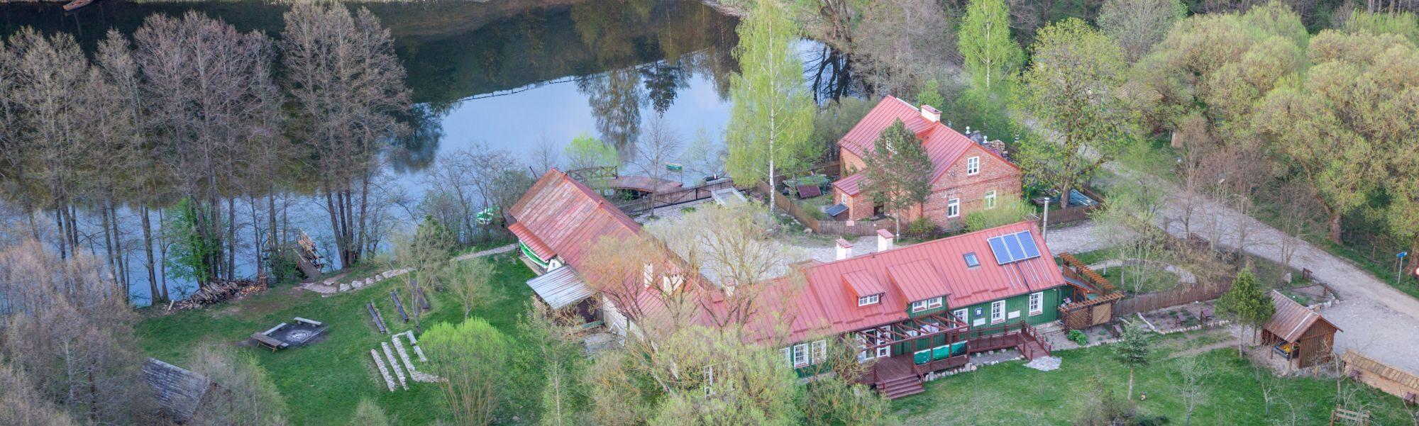 Siedziba Suwalskiego Parku Krajobrazowego w Turtulu