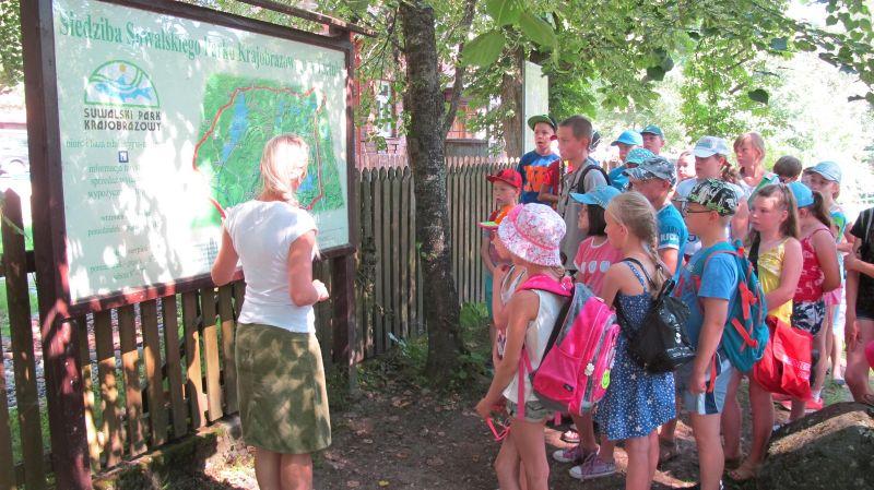 Zajęcia edukacyjne - Poznajemy Suwalski Park Krajobrazowy