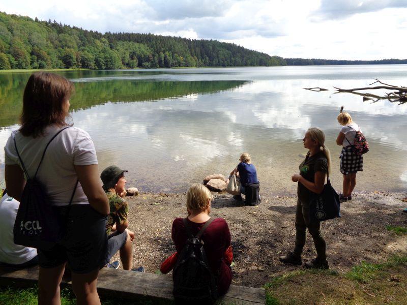 Zajęcia edukacyjne - Poznajemy najgłębsze polskie jezioro Hańcza