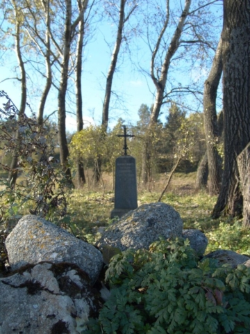 Cmentarz ewangelicki w Szeszupce