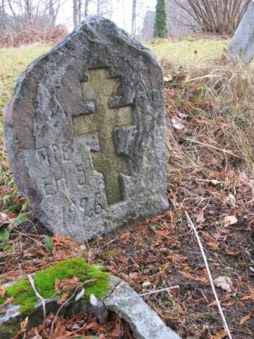 Cmentarz staroobrzedowców w Wodziłkach