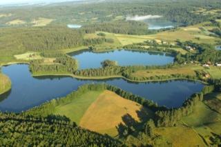 Jeziora kleszczowieckie - jezioro Perty i Kojle. Fot.H.Stojanowski