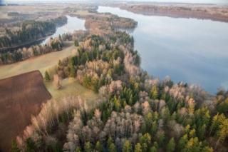 Jezioro Boczniel i jezioro Hańcza. Fot.H.Stojanowski