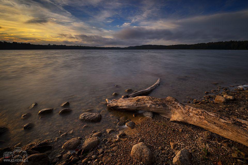Jezioro Hańcza. Fot.M.Giersa