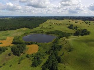 """Jezioro Linówek, Rezerwat Przyrody """"Rutka"""". Fot.M.W.Żarski"""