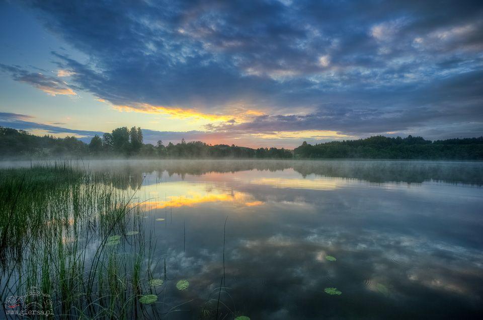 Jezioro Udziejek. Fot.M.Giersa