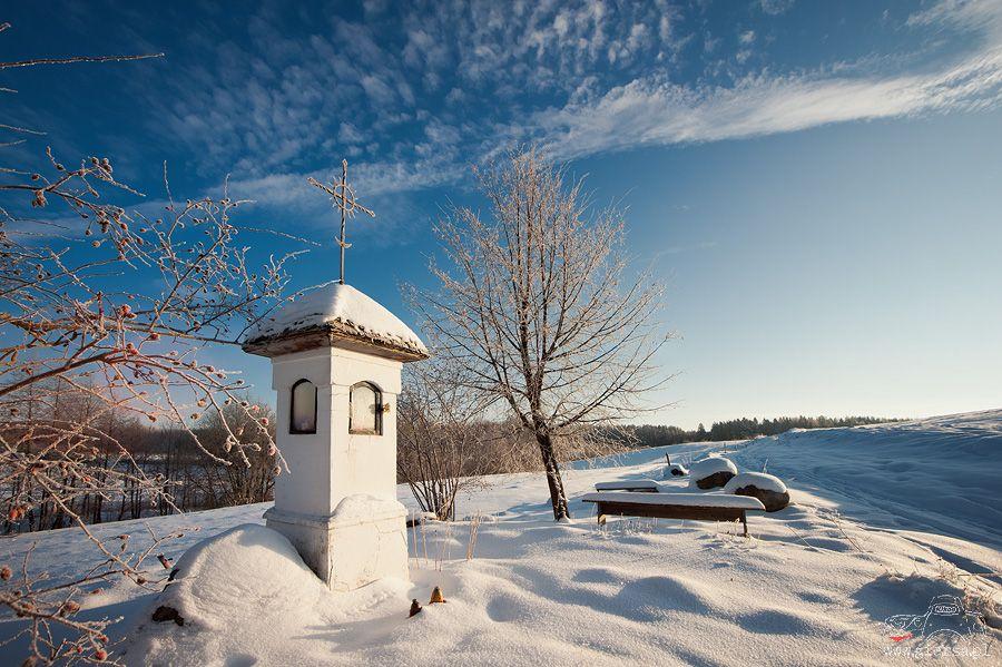 Kapliczka w Jacznem. Fot.M.Giersa