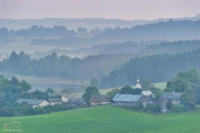 Widok na Wodziłki. Fot.M.Giersa