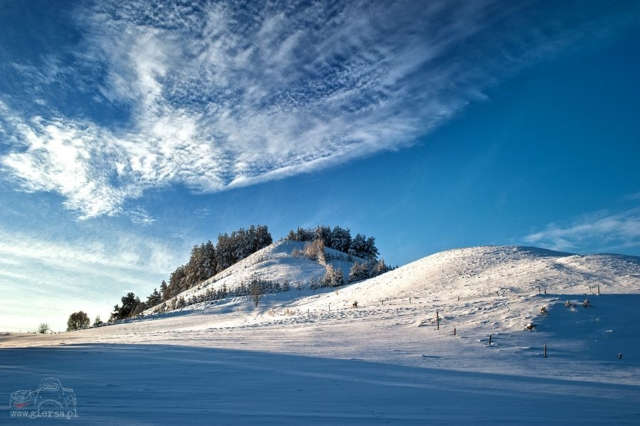 Zimowa Góra Cisowa. Fot.M.Giersa