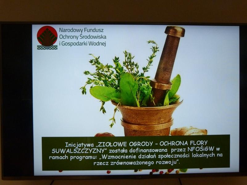 Ziołowe Ogrody - Ochrona Flory Suwalszczyzny