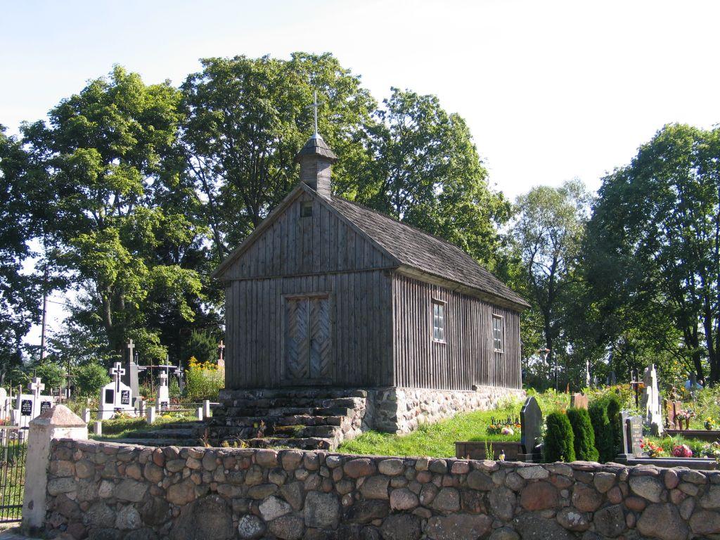 Kapliczka cmentarna (XIXw.) w Smolnikach