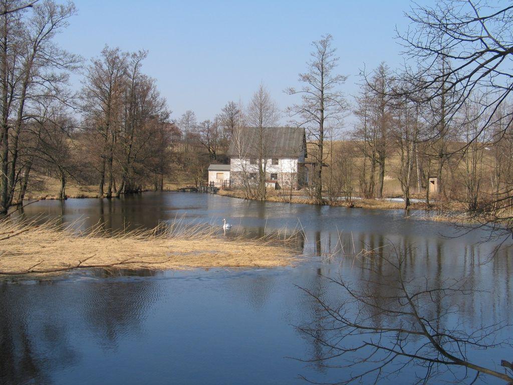 Młyn wodny na rzece Szeszupa w gminie Rutka-Tartak
