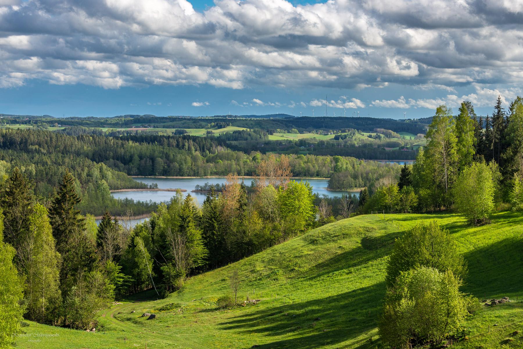 Jezioro Jaczno. Fot.K.Mierzejewski
