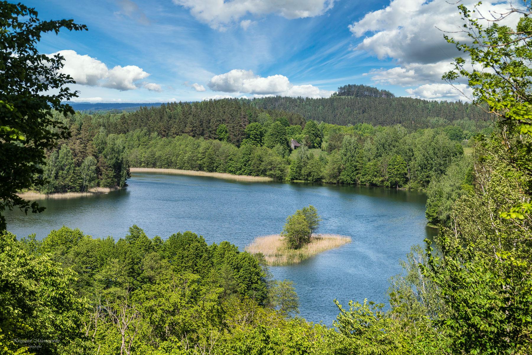 Jezioro Jeglówek. Fot.K.Mierzejewski