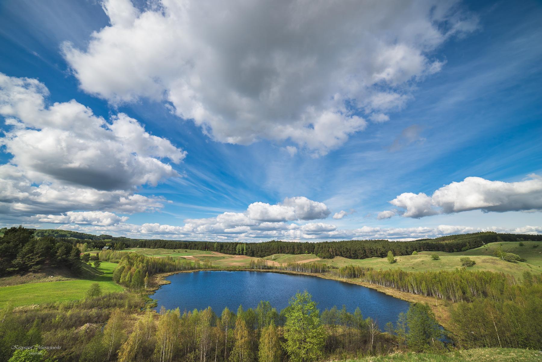 Jezioro Linówek. Fot.K.Mierzejewski