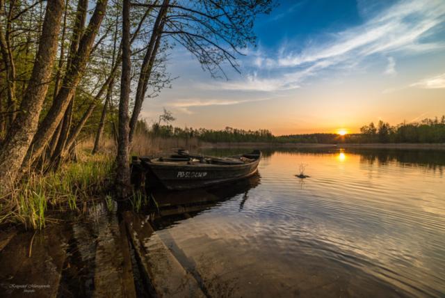 Nad jeziorem Jaczno. Fot.K.Mierzejewski