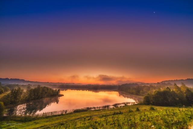 Poranne jezioro Kojle. Fot.K.Mierzejewski