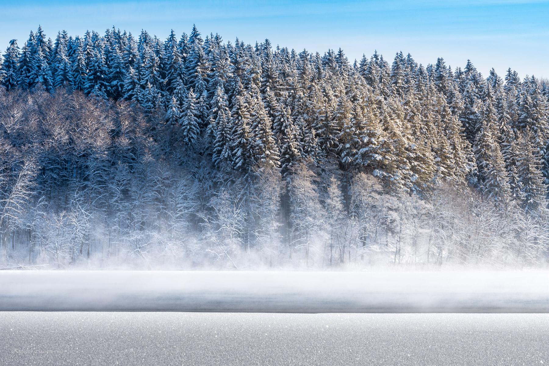 Zimowa Hańcza. Fot.K.Mierzejewski