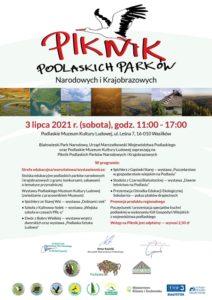 Piknik podlaskich parków narodowych i krajobrazowych - plakatt
