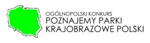 logo Ogólnopolskiego konkursu Poznajemy parki krajobrazowe Polski