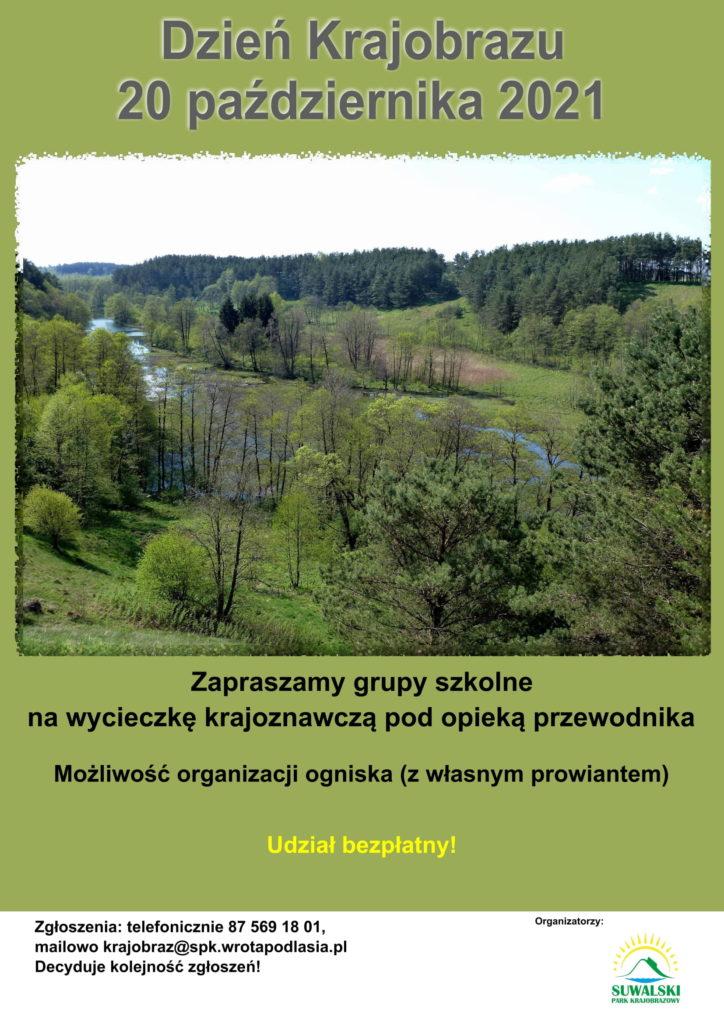 plakat promujący Dzień Krajobrazu w SPK